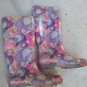 Coach Shoes - Coach | jelly poppy colorful rainboots